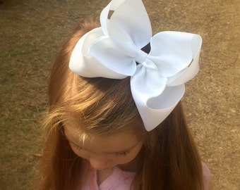 Extra large hair bow, Hair Bows, Big hair bow for girls, Baby headband, Toddler hair bow, You choose colors, Hair bows for girls