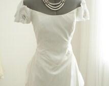 Vintage Priscilla of Boston Designed by John Burbidge Beaded Wedding Gown