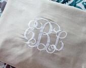Monogram Pillowcases (Set of 2)