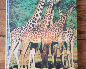 1977 ANIMALS, Hardcover Children's Book, FN.  Banner Press