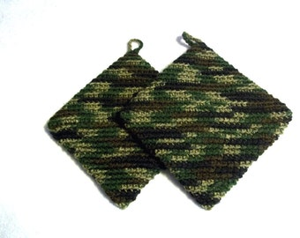 Potholder Double Thick Camoflague