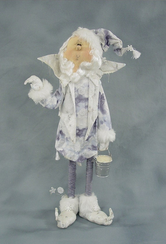 "Pattern: Jacques Frost - 24"" Winter Elf"