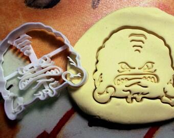 TMNT Krang Cookie Cutter