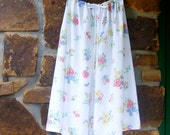 Upcycled Vintage Pillowcase Jammies/Lounge Pants to fit Woman 2XL-5XL