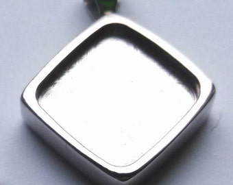 Pendant Blank Cabochon Setting 05  (Buy 3 get 1 free)  Sale 50 % off