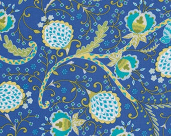 Little azalea dena designs fabric bird of paradise in for Dena designs tea garden fabric