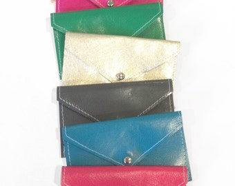 Leather Card Case - Many Colors