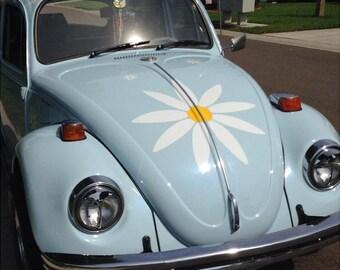 Super Sized Daisy Flower Decal Sticker Car Graphic in 23 inch vinyl by Tonyabug Sticker Momma