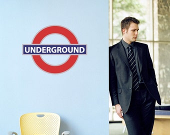 London Underground Metro Symbol Vinyl Decal