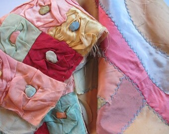 Vintage quilted pieces