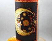 Marigold Moon Prayer Candle