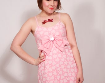 Pale Pink Babydoll Dress