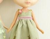 Emerald 2 Dress for Blythe
