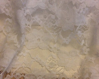 Stretch Lace Fabric 1 Yard