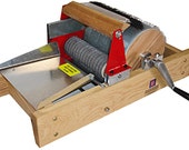 Strauch 200 STANDARD chain drive production drum carder with fiber