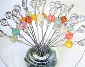 Ice Flake Resin Cocktail Appetizer Picks Value Party Pack Set of 20