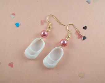 Doll Shoe Earrings