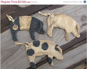 Welcome Spring Sale Primitive Pig Flat