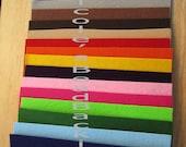 Nicole's BeadBacking 12x9 full set 16 colors bead embroidery soutcah shibori