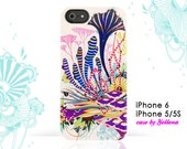 iPhone 6S Case, iPhone 6 Case, iPhone 6 Plus case, iPhone 5/5S Case - Original Artwork by Yellena - Radiance