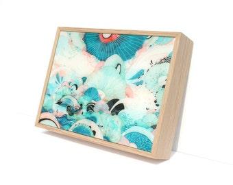 Season - Resin-Coated Print on Wood Panel