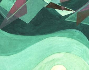 Depth beyond restlessness: Print