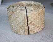 6 inch wide, 15cm wide Lauhala, woven, Belting, ribbon, belt-One Yard, tahitian costume, headpiece, hipbelt, polynesian dance