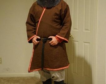 SCA ,Viking, Norse Coat, Caftan, Kaftan, LARP, Pennsic, Dagorhir, Amtgard, Belegarth, Medieval, Garb, Costume