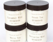 Sample Body Butter Shea Butter Set Of Four, Vegan Moisturizer For Feet, Body Cream,  Facial Lotion, Natural Whipped, Pick Own Scent, Travel