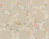 Japanese Fabric Kokka Nani Iro Joy Flower double gauze  - B - Smile