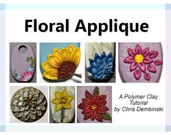 Floral Applique - A Polymer Clay Tutorial