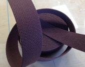 "Cotton BELTING - 1 1/2"" Wide - Brown"