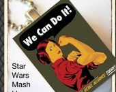 Star Wars Poster -Scrabble Tile Pendant with Chain