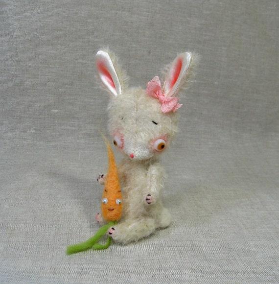 Maisie the Mohair Bunny