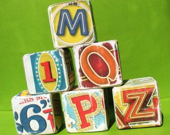 Broadway Lights - Alphabet Art Blocks