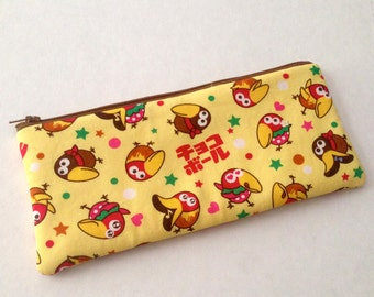 pencil zipper pouch ChocoBall Kyoro Chan