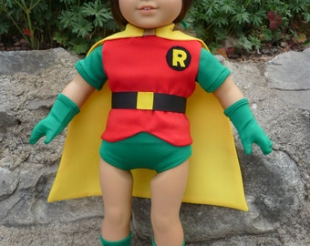 Robin, Superhero, Super Hero, outfit or costume for American Girl Doll