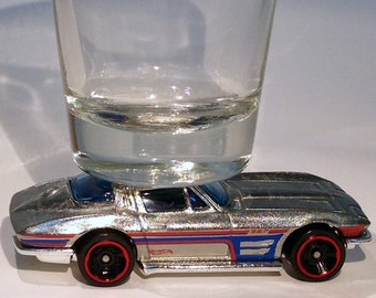 The ORIGINAL Hot Shot Shot Glass, '64 Chevy Corvette Sting Ray, Hot Wheels