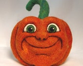 PDF Tutorial - How to Make Needle Felted Pumpkin Faces