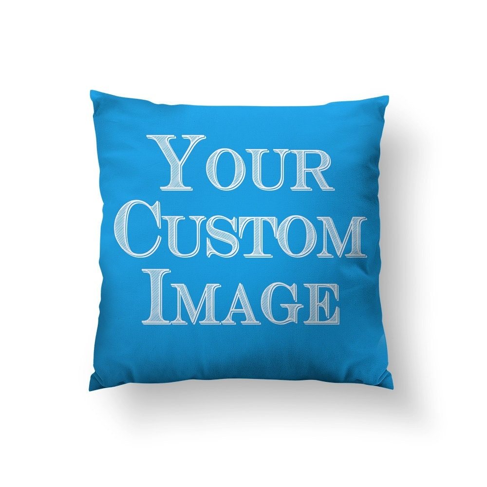 Made to Order CUSTOM Throw Pillow Submit Your Artwork
