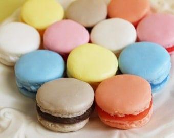 French Macaron Soap Mini Set - Macaron Soap, Wedding Soap Favors, Party Favors, Kids Soap, Fruit Soap, French Soap, Dessert Soap, Cake Soap