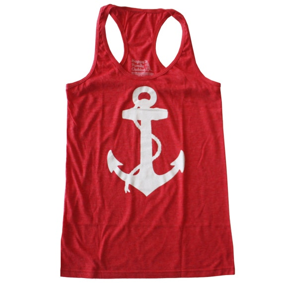 Womens ANCHOR Tank Top