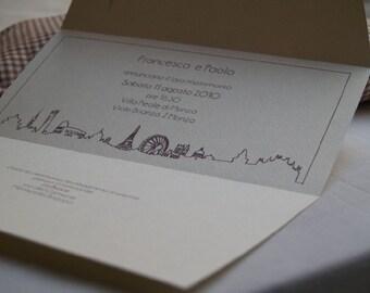 Mail - Customized Wedding Invitation 10 pcs