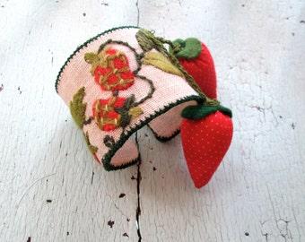 Strawberry Fields Cuff
