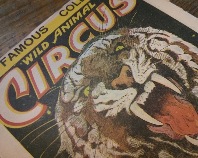 Vintage Cole Circus Poster