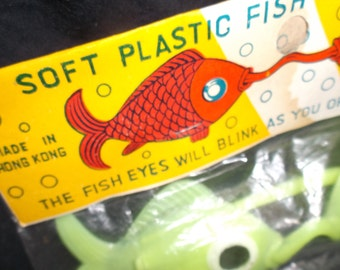 Vintage Fish Disguise Toy Glasses