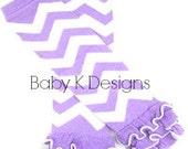 Purple Gray/Grey/Silver Blue OR Pink Chevron Stripe Ruffle Legwarmers. Baby Leg Warmers.Girls Holiday / Striped Leg warmer. Leg Warmer