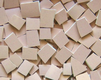 Mosaic Tiles--- Inner Peach----100 Tiles--Great Filler