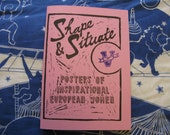 Shape & Situate: Posters Of Inspirational European Women #5 zine