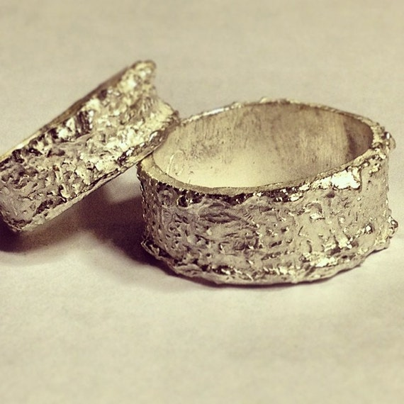 wedding rings modern eco friendly wedding band by